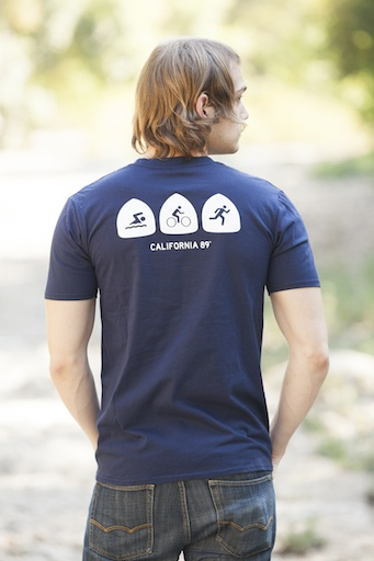 California 89 Triathlon Men's Tee