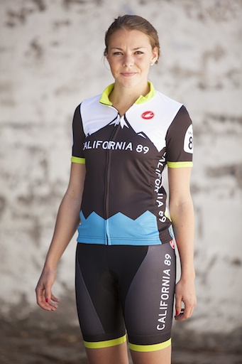 California 89 Mountain Design Women's Castelli Bike Jersey