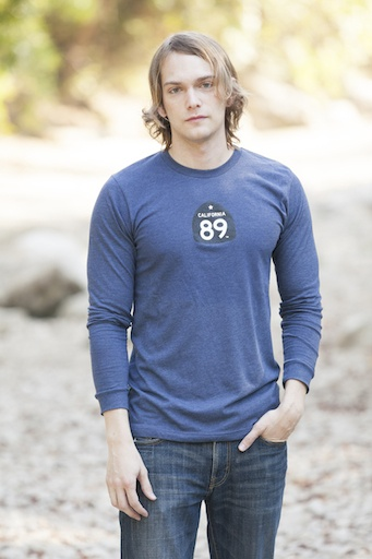 California 89 Bicycle Men's Long Sleeve Tee