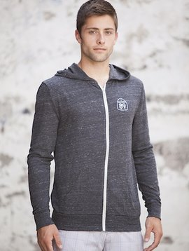 California 89 Unisex Lightweight Hooded Zip