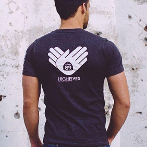 California 89 High Fives Foundation Men's Tee
