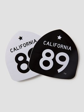 California 89 Large CA89 Stickers