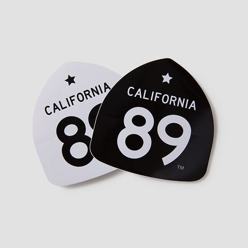 California 89 CA89 Sticker