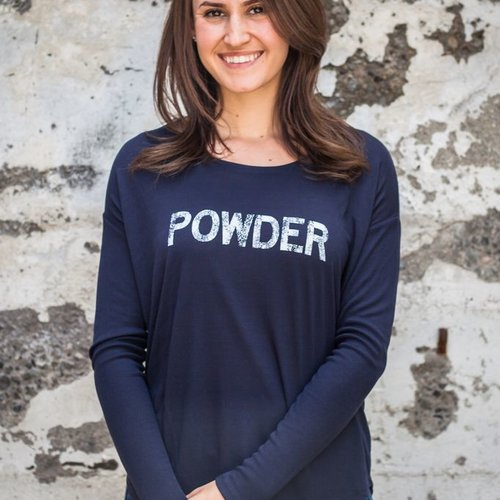 Women's shirts POWDER Long Sleeve Flowy Tee