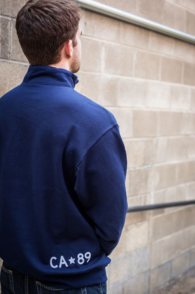 California 89 Unisex 1/4 Zip Sweatshirt