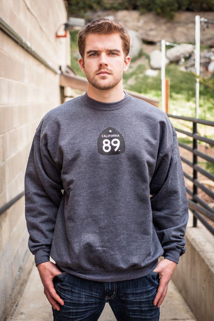 California 89 Unisex Crew Sweatshirt