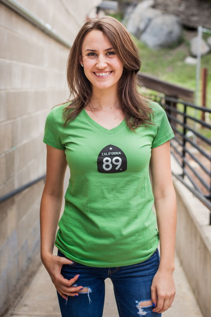 California 89 Bike Women's V-Neck Tee