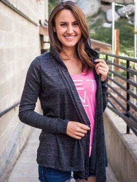 Women's sweater Women's Warm Up Wrap with Hood