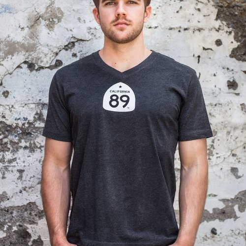 Men's Tshirt Gondola Men's V-Neck Tee