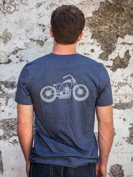 California 89 Men's Short Sleeve Motorcycle T-Shirt