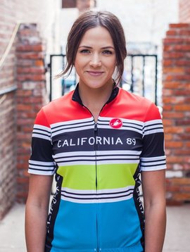Bike Jersey Striped Women's Castelli Bike Jersey