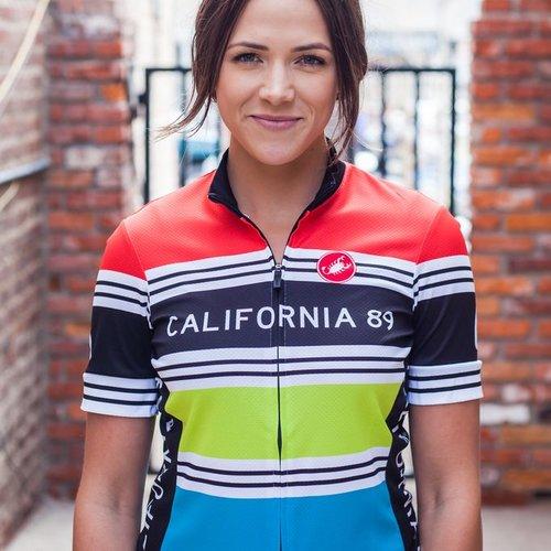 Bike Jersey  Striped Women's Castelli Bike Jersey