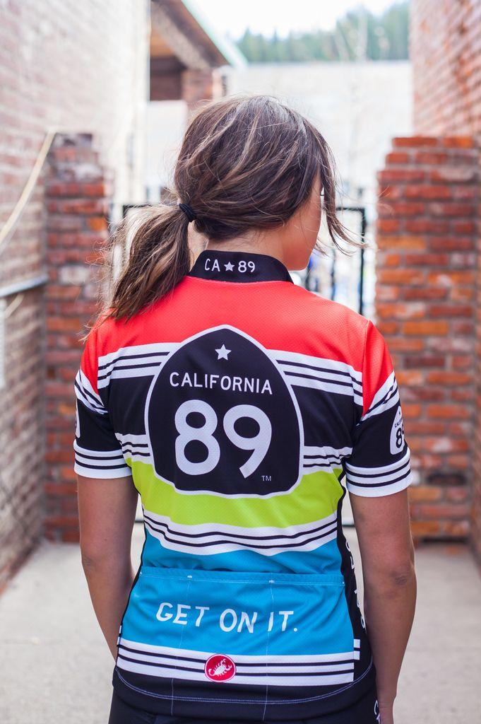 587ce2dd2 California 89 Striped Women s Castelli Bike Jersey · California 89 Striped Women s  Castelli Bike Jersey