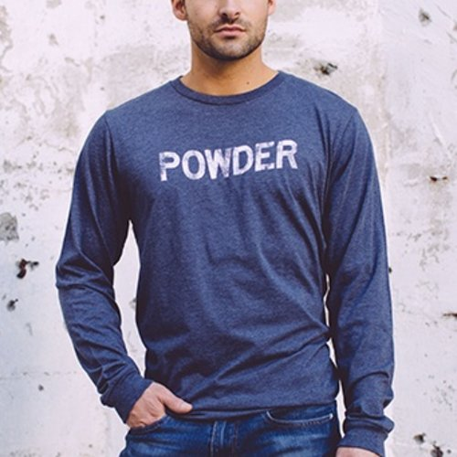 California 89 POWDER Long Sleeve Men's Tee