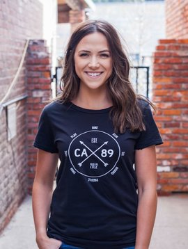 California 89 Action Dial Distressed Women's Tee