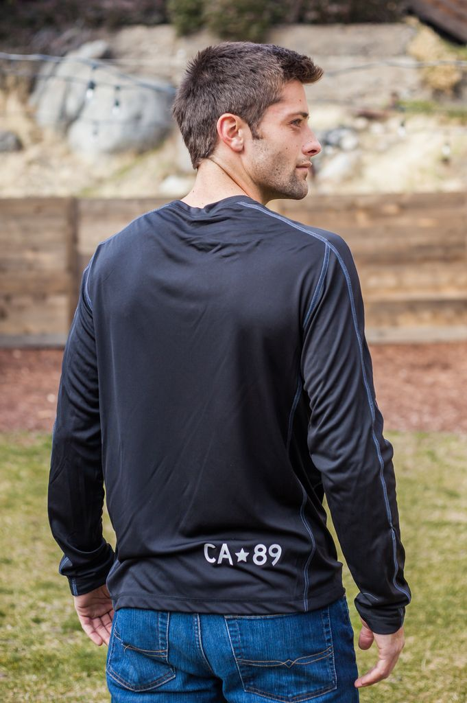 California 89 Long Sleeve Men's Performance Tee