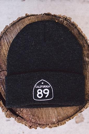 California 89 Shield Flap Beanie