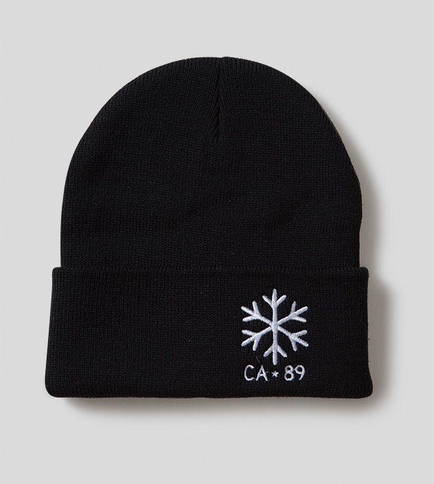 California 89 Snowflake Flap Beanie