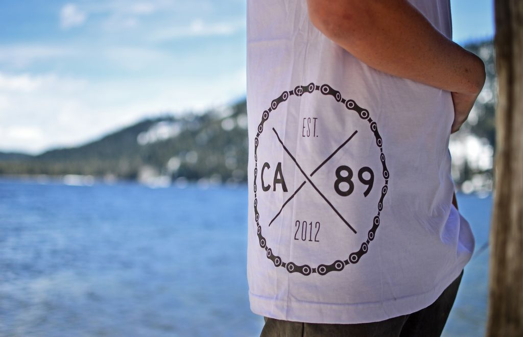 California 89 CA89 Spoke Men's  Pocket Tee