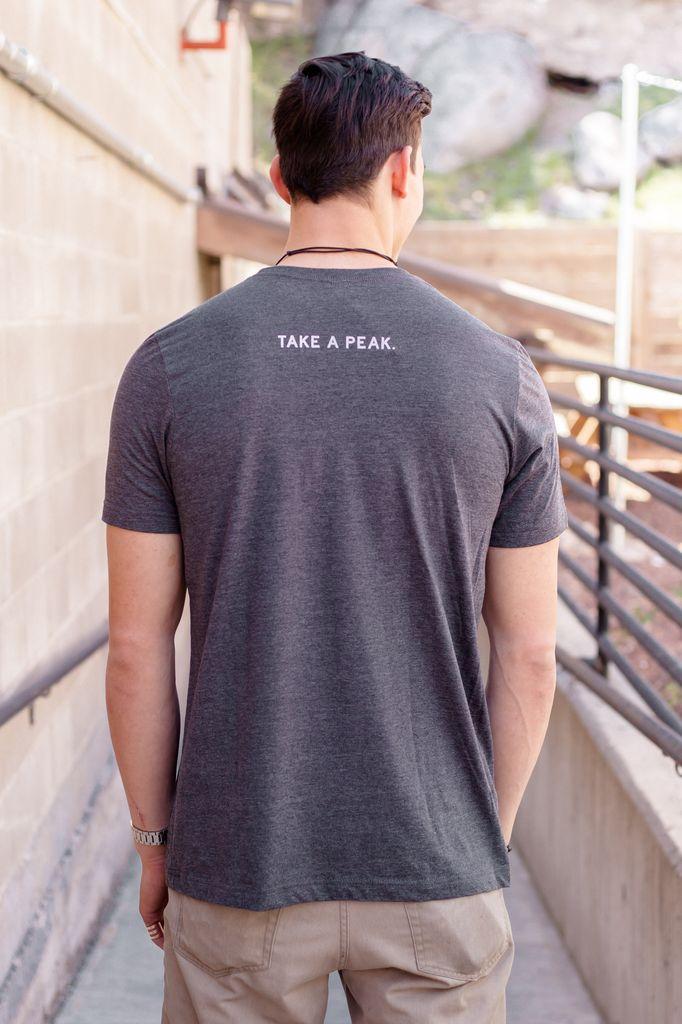 Men's Tshirt Take A Peak Men's Tee