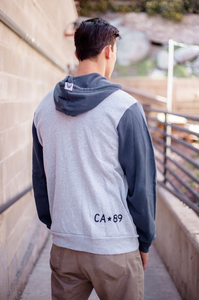 California 89 Unisex Zip Up Hoodie