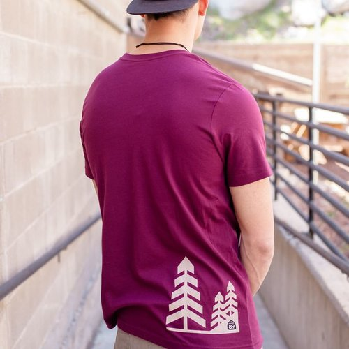 Men's Tshirt Trees Graphic Men's Tee
