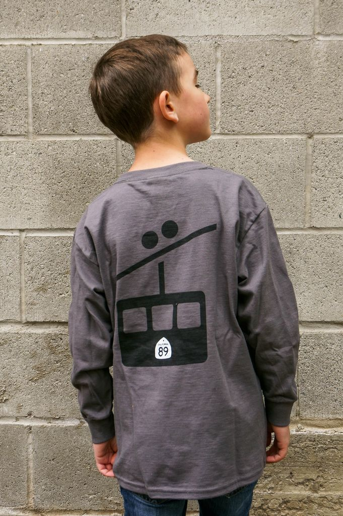 Kid's T-Shirts Kid's Long Sleeve Gondola Tee
