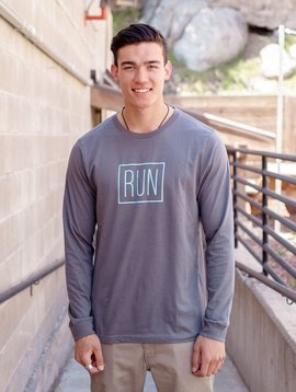 California 89 Men's Long sleeve RUN Tshirt