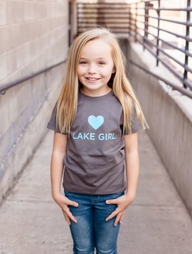 California 89 Girl's T-Shirt Lake Girl