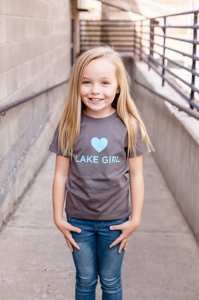California 89 Lake Girl Girl's Tee