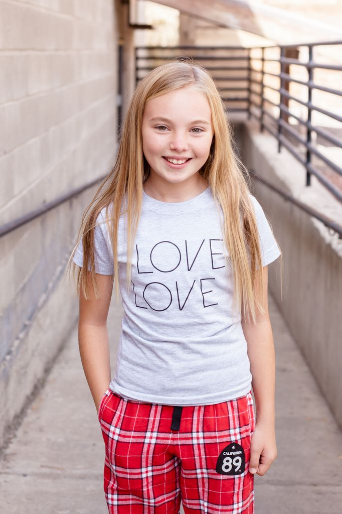 California 89 Girl's Love Tee