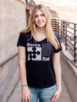 California 89 Women 's Short Sleeve Bocce