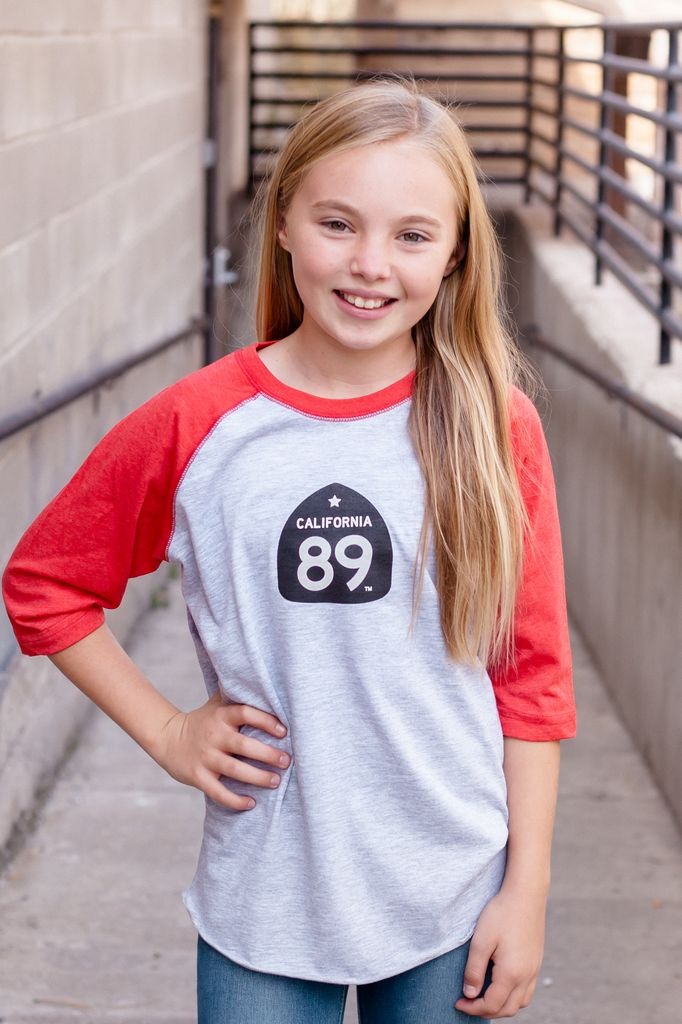 California 89 Kid's Gondola Baseball Tee