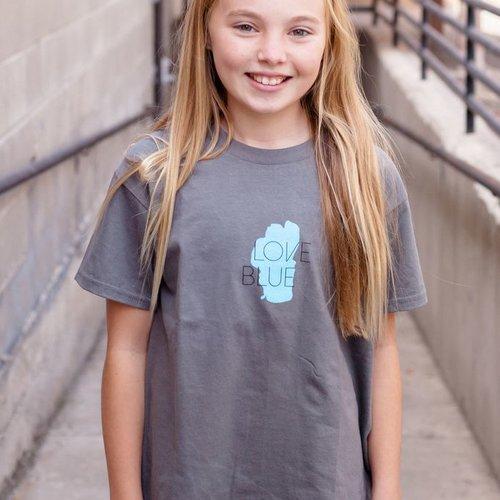 Kid's T-Shirts Love Blue Kid's Tee
