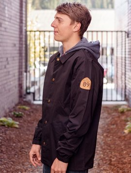 California 89 Men's Windbreaker Coaches Jacket