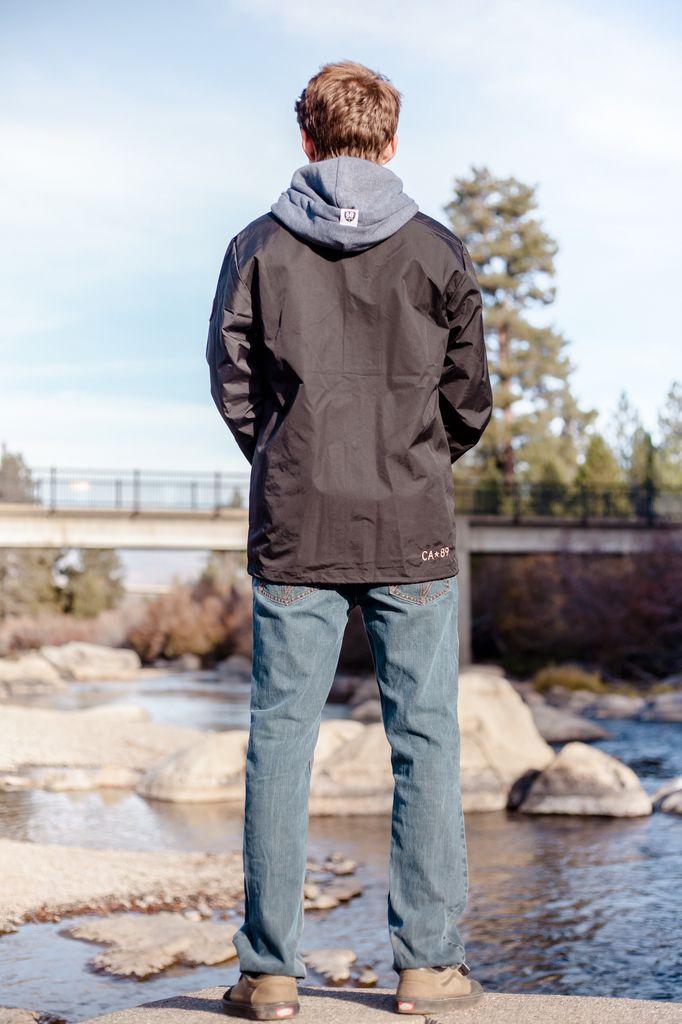 California 89 Men's Windbreaker Coaches Jacket