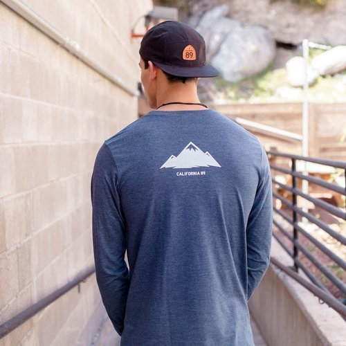 California 89 Mountain Long Sleeve Men's Tee