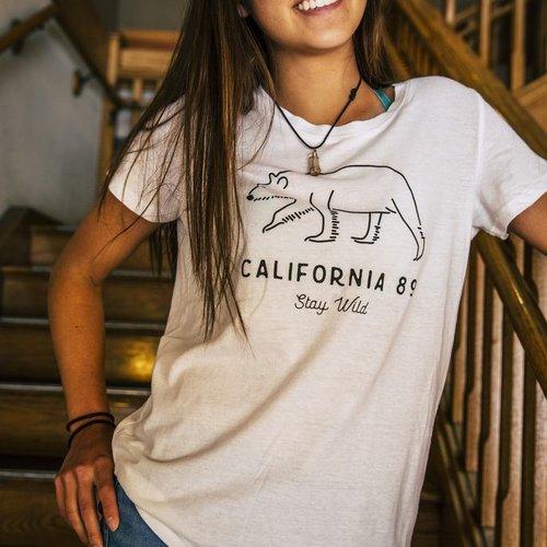 California 89 Women's Stay Wild Tee