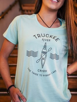 California 89 Women's Truckee River Tee