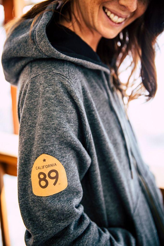 California 89 CA89 Custom ZipUp Sweatshirt