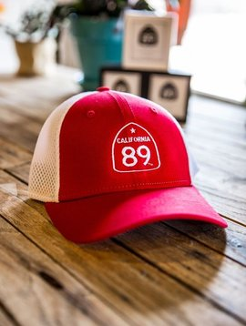 California 89 Youth Cap CA89 Shield