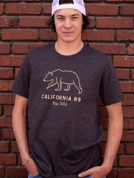 California 89 Men's short sleeve Stay Wild tshirt