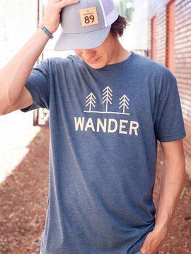 California 89 Men's short sleeve Wander tshirt