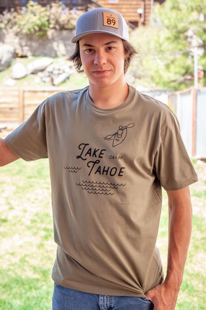 California 89 Lake Tahoe Men's Tee