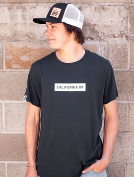 California 89 Men's short sleeve Pima Cotton California 89 box