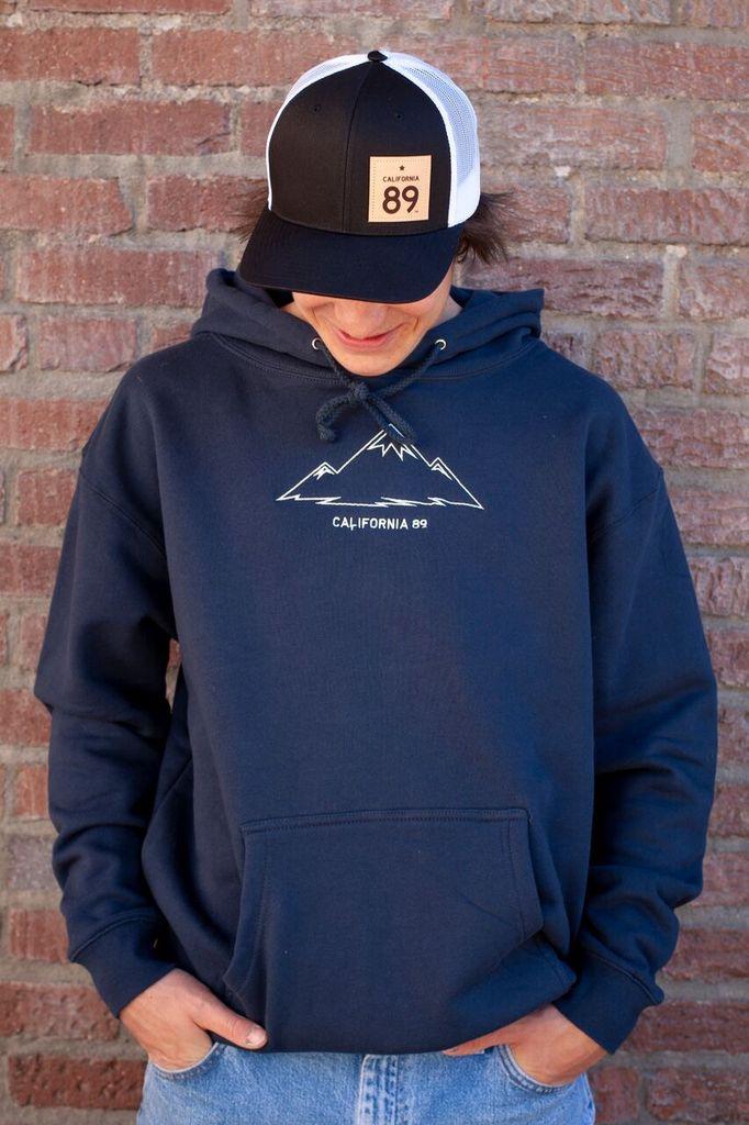 California 89 Unisex Mountain Hoodie