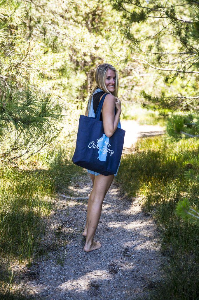 California 89 Tahoe Fund Reusable bags