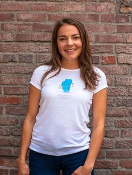 Women's T-Shirts Love Blue Women's Sport Tee