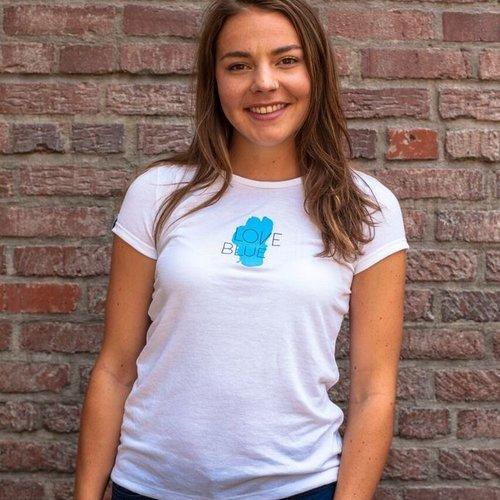 Women's T-Shirts  Love Blue Women's Sport Tee