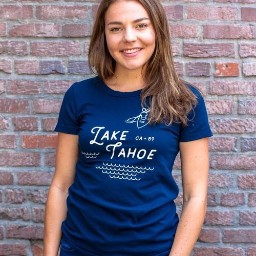 California 89 Women's Lake Tahoe Tee